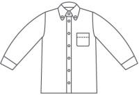 襟ひとつで決まるクールビズシャツ
