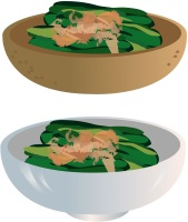 春菊の食べ方はおひたしがいいの?それとも、天ぷら?